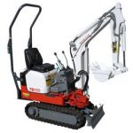 Takeuchi TB108 Mini Compact Excavator Parts Manual(Book No.BB5Z104)