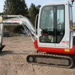 Takeuchi TB125 Mini Compact Excavator Parts Manual(Book No.BE5Z007)