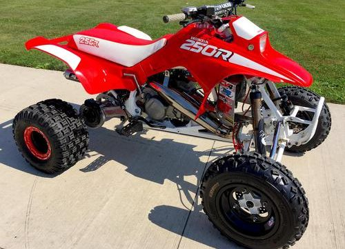 1986 fourtrax 250r motocycle service