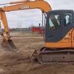 Case CX75SR/CX75SR-LR/CX80/CX135SR/Tier 3 Crawler excavators Operator's Manual