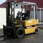 Caterpillar EP30K, EP35K Chassis & Mast Forklifts Service Reapir Workshop Manual