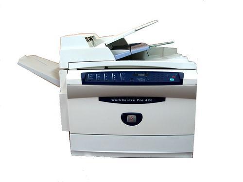 2002 Xerox Workcentre Pro 420 Printer Service Repair