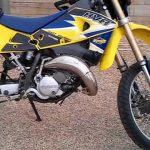 2006 Husqvama WR 125, CR 125 Motorcycle Owner's manual