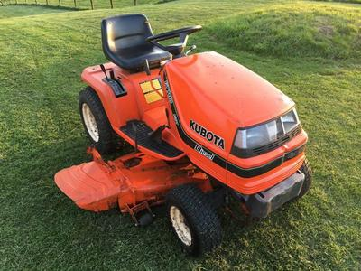 Kubota Lawn Mowers Manual | A Repair Manual Store
