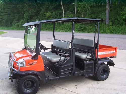Kubota Wsm Rtv1140cpx Utility Vehicle Service Repair