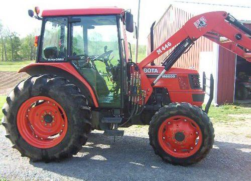 Kubota WSM M6800,M6800S Tractor Service Repair Workshop Manual on