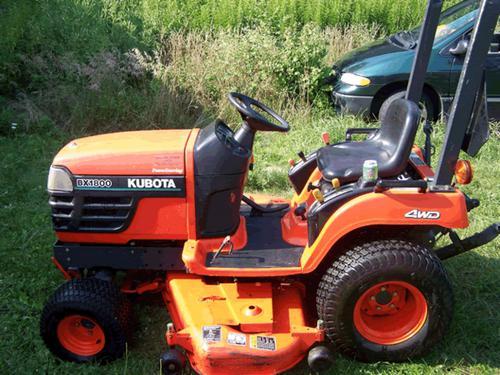 2000 Kubota Wsm Bx1800 Bx2200 Tractor Service Repair