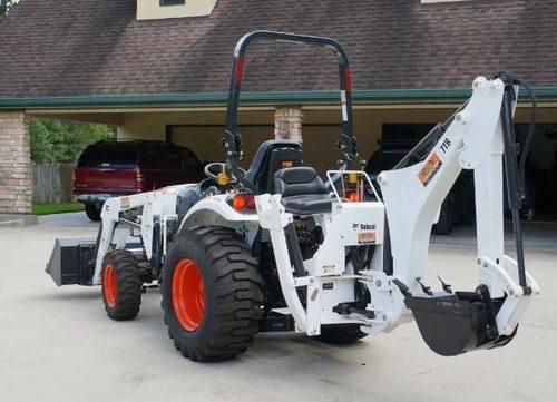 2010 Bobcat Tractor Backhoe 6TB,7TB,8TB Service Repair Workshop  Manual(6986711)(5-10)