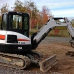 Bobcat E50 Compact Excavator Service Repair Workshop Manual