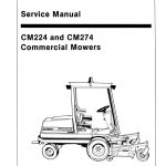 New Holland Ford CM224 and CM274 Commercial Movers Service Repair Manual