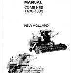 New Holland Combines 1400-1500 Service Repair Manual