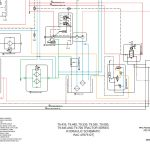 New Holland T9.435, T9.480, T9.530, T9.565, T9.600, T9.645 AND T9.700 TRACTOR SERIES HYDRAULIC SCHEMATIC Manual