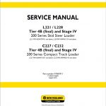 New Holland  L221/L228/C227/C232 Loader Service Repair Manual