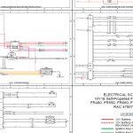 New Holland FR480/FR550/FR650/FR780/FR850 ELECTRICAL SCHEMATIC Manual