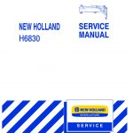New Holland H6830 Pull-Type Disc Mower Service Repair Manual