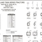 NEW HOLLAND T6000 SERIES TRACTORS TRANSMISSION Manual