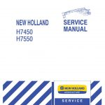 New Holland H7450/H7550 Disc Mower Service Repair Manual