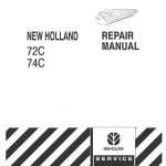 New Holland 72/74C Headers Service Repair Manual
