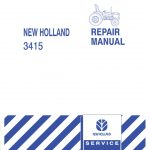 New Holland 3415 Tractor Service Repair Manual