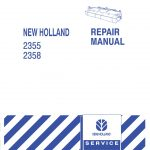 New Holland 2355/2358 Windrow Forage Headers Service Repair Manual