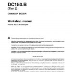 New Holland DC150.B (Tier 2) Crawler Dozer Service Repair Manual