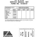 Fiat-Allis FL7/FL7B Dozer Service Repair Manual